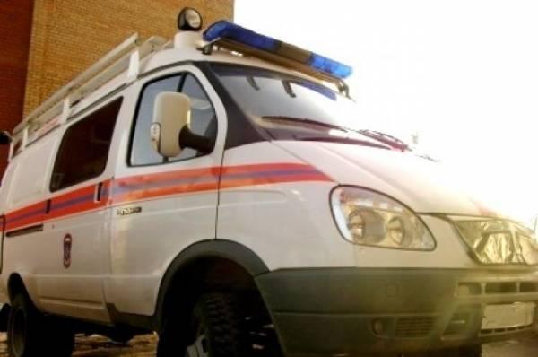 В Туве в труднодоступной местности опрокинулся автомобиль «Урал»