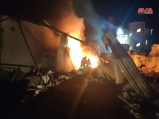 Один человек стал жертвой ракетного удара Израиля по Латакии