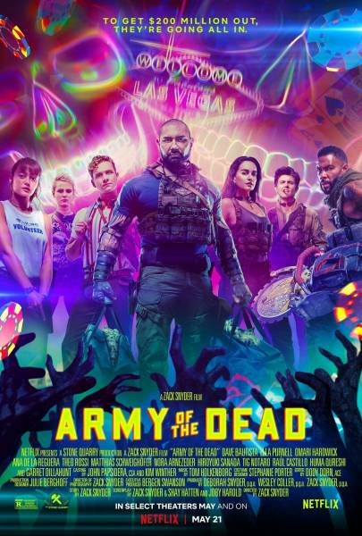 """В лапах зомби: Опубликован свежий постер и кадр из фильма """"Армия мертвецов"""""""