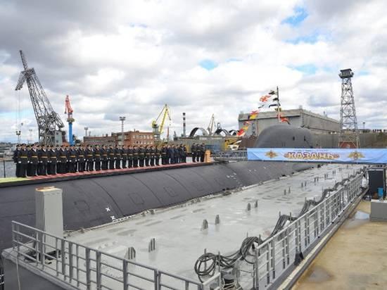 Для ВМФ России построили подлодку-носитель «Цирконов»