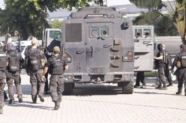 Число жертв операции полиции в Рио-де-Жанейро выросло до 28