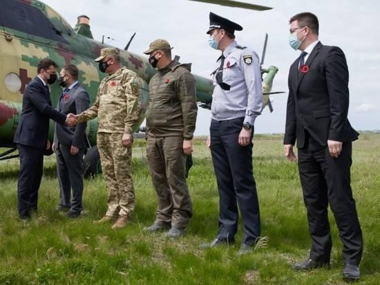 Зеленский привез послов Евросоюза в Донбасс