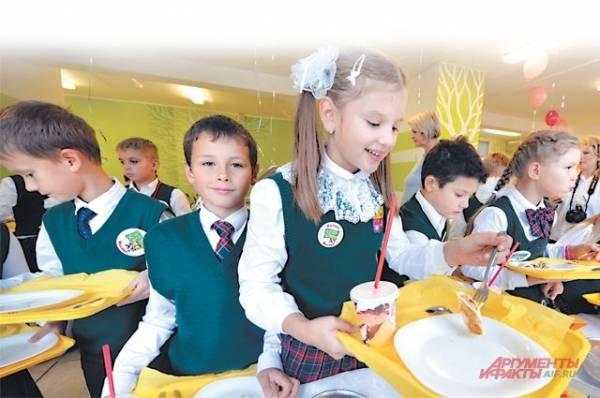Чем нельзя кормить школьников?
