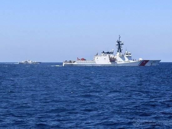 ВМС Украины и береговая охрана США провели тренировку в Черном море