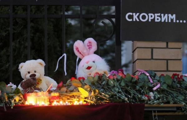 Трёх детей, погибших в школе, похоронили на мусульманском кладбище в Казани