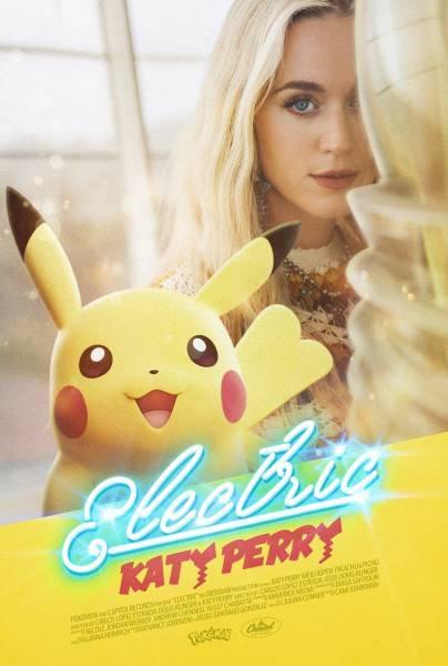 Кэти Перри выпустила музыкальный клип про покемонов к 25-й годовщине франшизы
