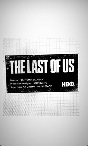 Российский режиссер Кантемир Балагов показал логотип сериала по мотивам The Last of Us от HBO