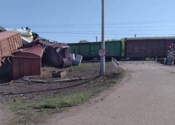 Сход вагонов в Самарской области привёл к задержке пассажирских поездов