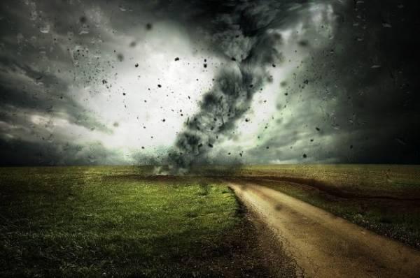 В Китае жертвами торнадо стали шесть человек