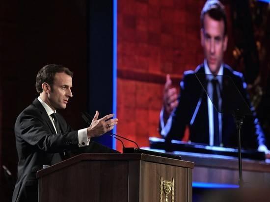Француз дал пощечину президенту Макрону