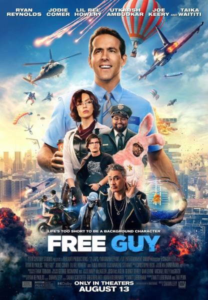 """""""Главный герой"""" - 20th Century Studios представила новый трейлер фильма в духе GTA: Online"""