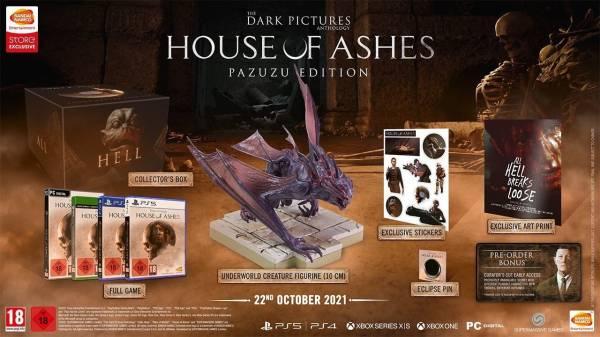 Хоррор House of Ashes от Supermassive обрел дату релиза и сюжетный трейлер - анонсировано издание с фигуркой монстра