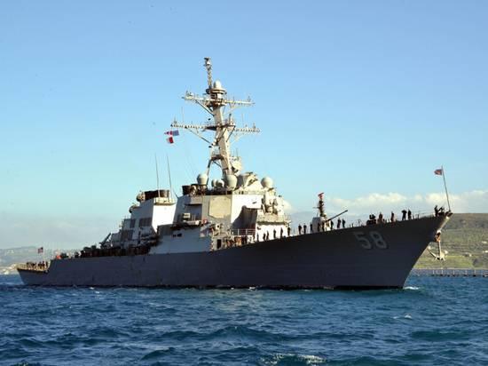 Раскрыта цель похода эсминца США Laboon в Черное море