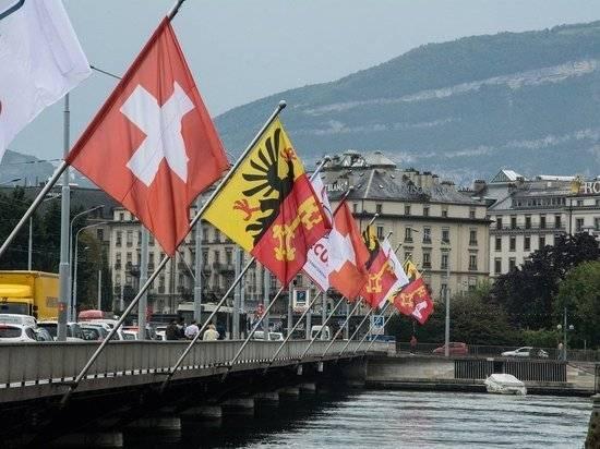 Швейцария частично закроет воздушное пространство из-за саммита Россия-США