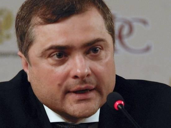 Сурков выступил за возвращение Украины силой