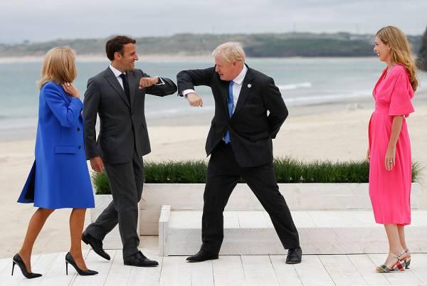 Макрон и Джонсон поссорились на саммите G7