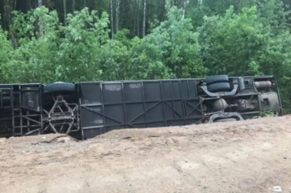 Следствие назвало причину ДТП с экскурсионным автобусом в Ленобласти