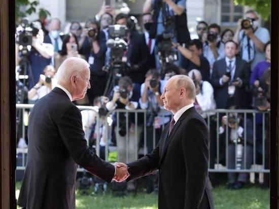 Американская журналистка обвинила русских в давке на саммите в Женеве