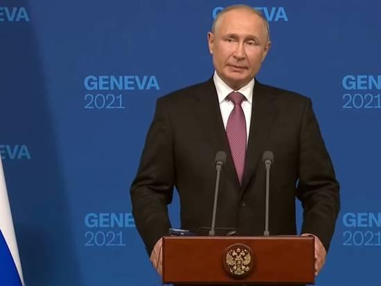 Путин после саммита с Байденом высказался о Донбассе и Украине в НАТО