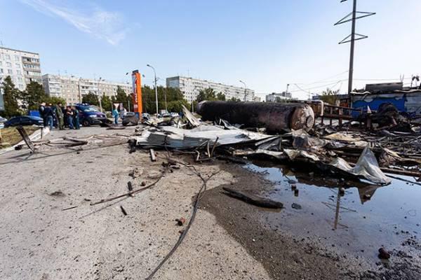 Шесть человек остаются в реанимации после пожара на новосибирской АГЗС