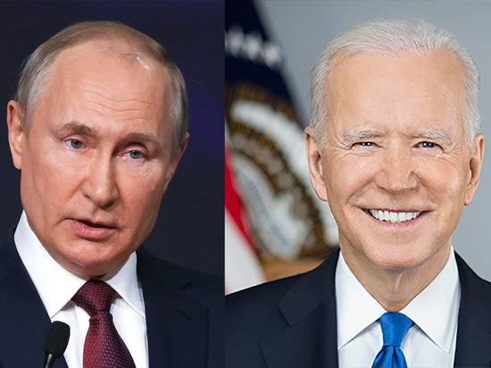 Стало известно расписание встречи Путина и Байдена