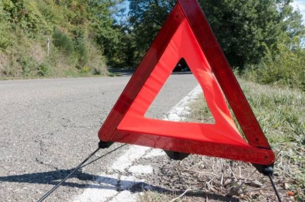 В Абхазии машина с российскими туристами попала в ДТП