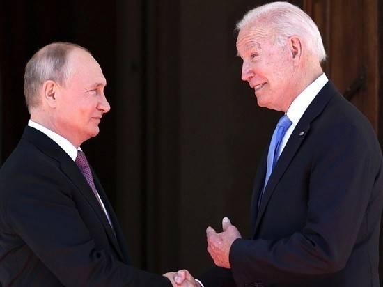 В Женеве идут переговоры Путина и Байдена в расширенном формате