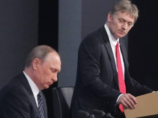 """Песков прояснил слова Путина про обсуждение Украины """"мазком"""""""