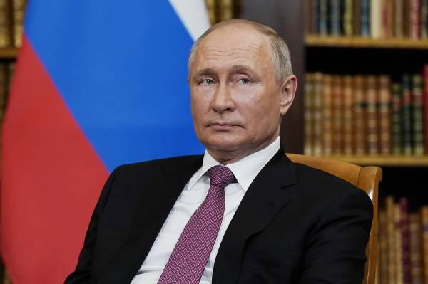 Путин встретился с президентом Швейцарии после саммита с Байденом