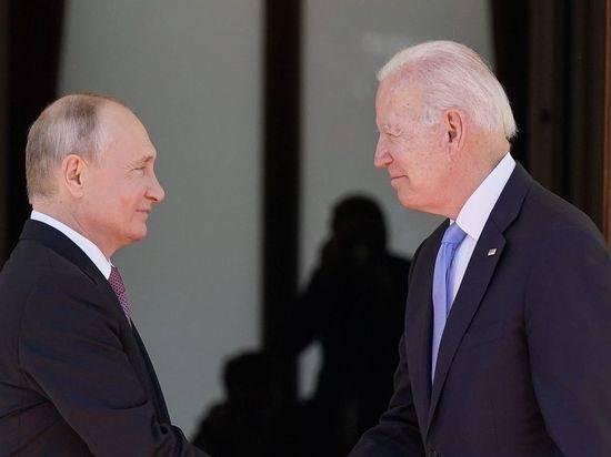 Схватка двух волков в Женеве: Путин и Байден прорвали плотину