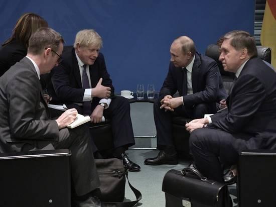 Министр обороны Великобритании назвал условия для саммита Джонсона и Путина