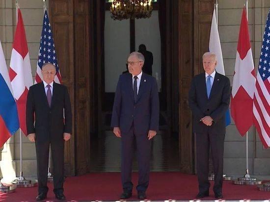 Президент Швейцарии на встрече подарил Путину и Байдену наручные часы