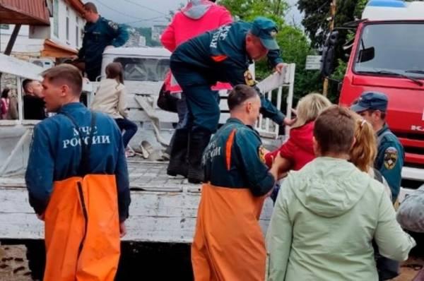 Число пострадавших в результате подтоплений в Ялте увеличилось до 11