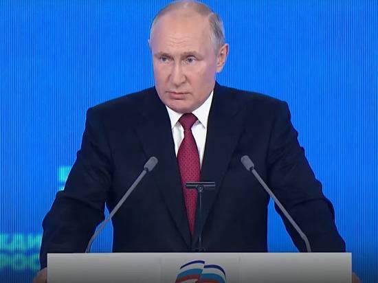Путин заявил о «прилипании» к «Единой России» нечистоплотных на руку людей