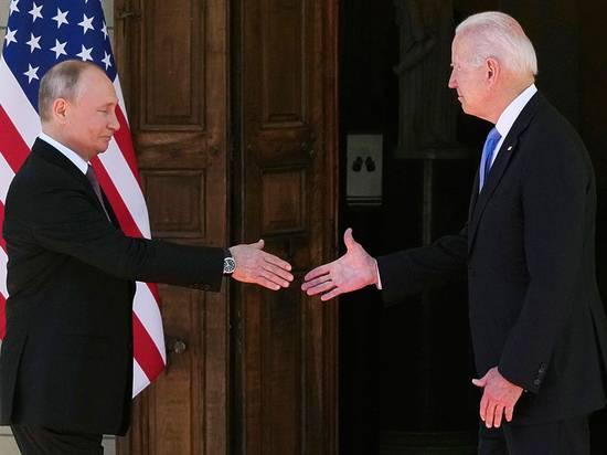 Белый дом отверг изменения в вопросе санкций после встречи Путина и Байдена