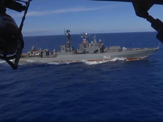 Группировка ВМФ России отработала уничтожение авианосца вблизи Гавайев