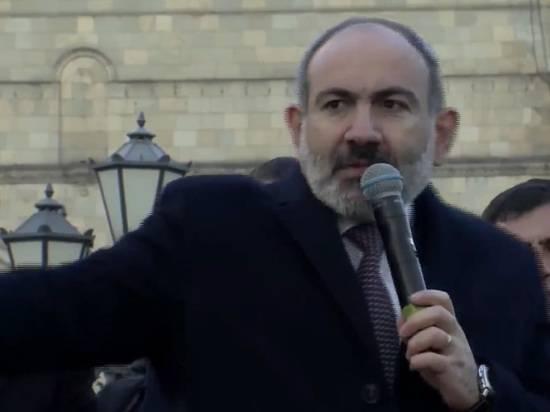 Пашинян заявил о завершении политического кризиса в Армении