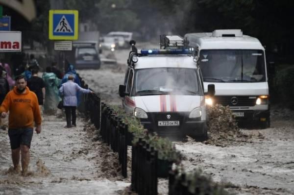 В Ялте число пострадавших в результате ливней увеличилось до 49