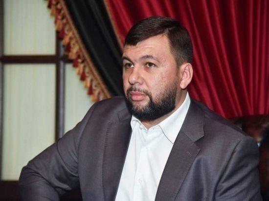Пушилин обвинил ВСУ в использовании тактики террора в Донбассе