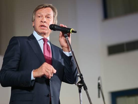 Пушков прокомментировал слова экс-главы МИД Польши о «российской угрозе»