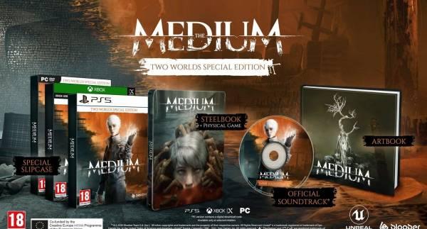 """""""Два мира"""": Хоррор The Medium получит коллекционное издание для PlayStation 5 и Xbox Series X S"""