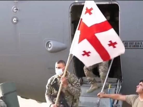 Грузинский воинский контингент покинул Афганистан