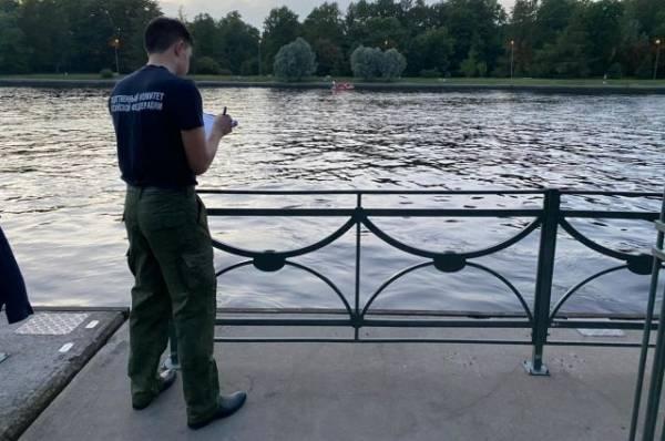 В Петербурге столкнулись теплоход и маломерное судно
