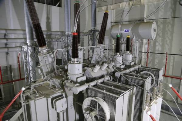 На электроподстанции под Петербургом произошло возгорание