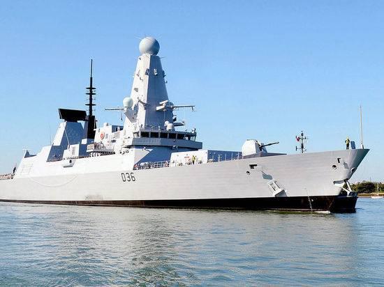 В Сети обсудили инцидент с британским эсминцем: «Почему не задержали»