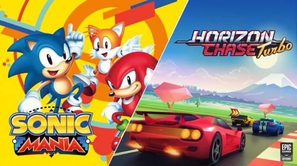 Всем ПК-геймерам дарят Sonic Mania и Horizon Chase Turbo - спешите загрузить в Epic Games Store