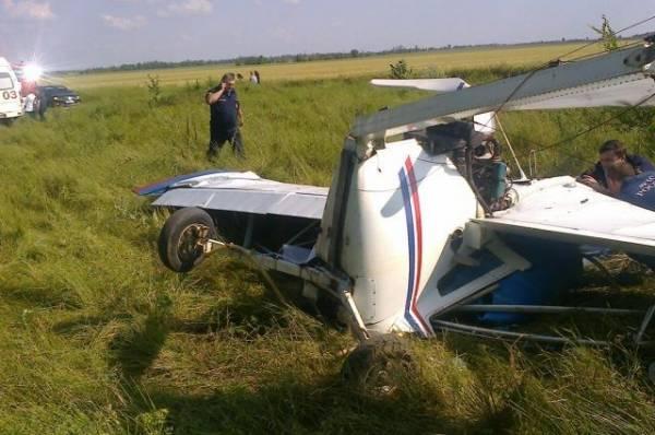 Экипаж пропавшего под Архангельском легкомоторного самолета выжил