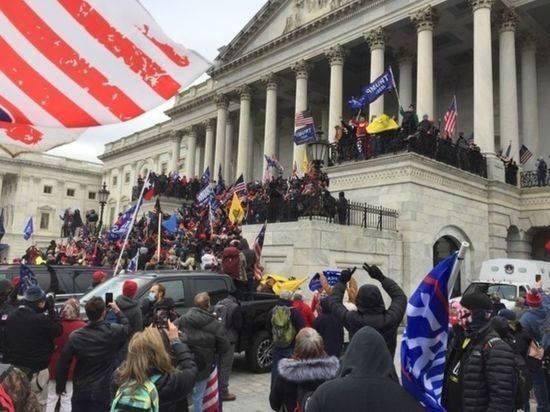 В США по делу о штурме Капитолия арестовали свыше 500 человек