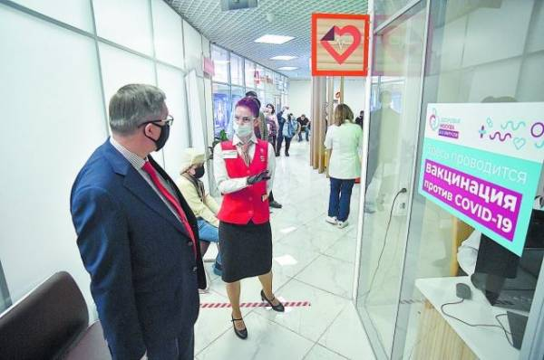 Где в Москве теперь можно сделать прививку до 10 часов вечера?