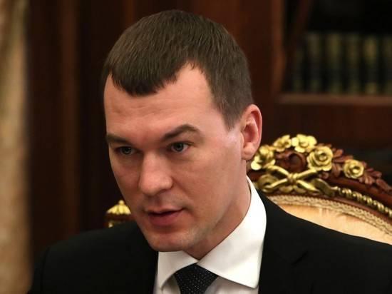Путин положительно оценил работу Дегтярева в качестве главы Хабаровского края